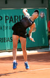 Vitalia DIATCHENKO (RUS) at Roland Garros 2010 Royalty Free Stock Images