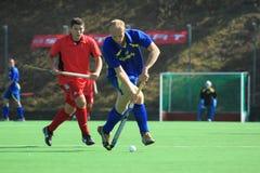 Vitalii Bondarchuk - international field hockey Stock Image