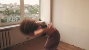 Vitality dance freedom recreation energetic woman