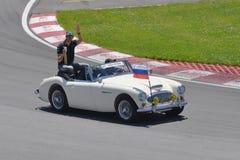 Vitaly Petrov in 2012 F1 kanadisches großartiges Prix stockfoto
