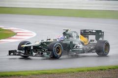 Vitaly petrov, caterham F1 Fotografia Stock Libera da Diritti