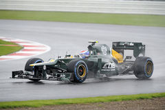 Vitaly petrov, caterham F1 Royalty Free Stock Photo