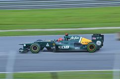 Vitaly Petrov Caterham-Renault Fotografia Stock