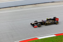 Vitaly Petrov (team Lotus Renault) Royalty Free Stock Image