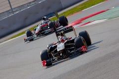 Vitaly vs Vitantonio Petrov Liuzzi- F1 2011 Obraz Stock