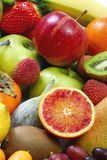 Vitamin. Fresh raw fruits composition. Colorful and sweet Stock Image