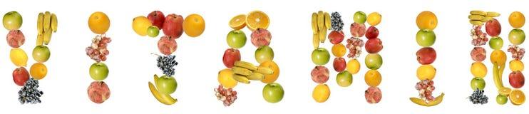 Vitamin Stock Image