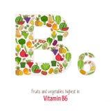 Vitamin B6 Stock Photo