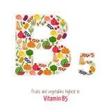 Vitamin B5 Stock Photography