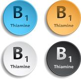 Vitamin B1 Royalty Free Stock Photography