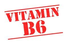 VITAMIN B6 Stempel Lizenzfreie Stockfotografie
