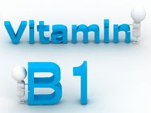 Vitamin B1 Royalty Free Stock Photos