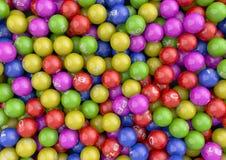 Vitamin Balls. Render of colorful Vitamin Spheres Stock Image