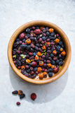Vitamin berry collection Royalty Free Stock Images