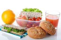 Vitamin breakfast Stock Images