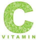 Vitamin C. stock abbildung