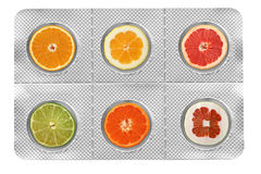 Vitamin C Stockfotos