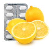 Vitamin c Royalty Free Stock Image
