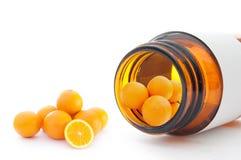 Vitamin C Stockfotos