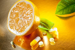 Vitamin C Royaltyfria Bilder