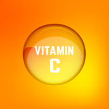 Vitamin C 02 A vektor illustrationer