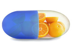 Vitamin c Stock Image