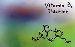 Vitamin C, formel, vitaminer Arkivfoton