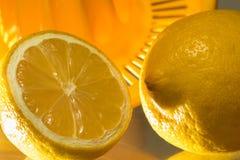 Vitamin C, fresh lemons Stock Images