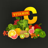 Vitamin C Image Stock Photos