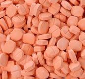 Vitamin C pills. The Vitamin C pills on background Royalty Free Stock Image