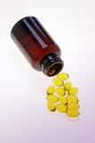 Vitamin Capsules Stock Image