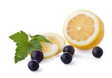 Vitamin- Cfrüchte lizenzfreie stockbilder