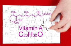 Vitamin A stock images