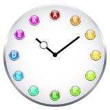 Vitamin Clock Stock Photos