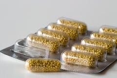 Vitamin Cpillen Lizenzfreie Stockfotos