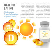 Vitamin D Image Stock Photo