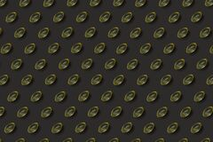 Vitamin d pattern on gray background
