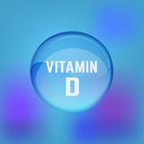 Vitamin D 02 A Royalty Free Stock Photos