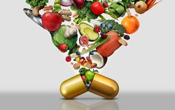 Vitamin Dietary Supplement stock photography