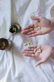 Vitamin, drugs, pills and tablets Royalty Free Stock Photography