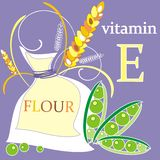 Vitamin E Royalty Free Stock Photography