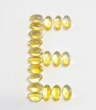 Vitamin E Royalty Free Stock Photos