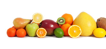 Vitamin fruits Royalty Free Stock Photos