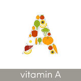 Vitamin A  Royalty Free Stock Images
