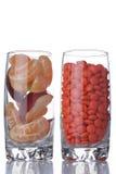 Vitamin or medicine Stock Photo
