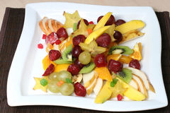 Vitamin and nutritious fruit salad Royalty Free Stock Photography