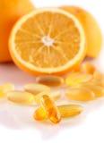 Vitamin omega3 Royalty Free Stock Image