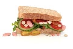 Vitamin Pill Addiction Stock Image
