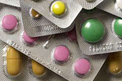 Vitamin pills Stock Images