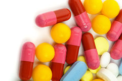 Vitamin Pills Royalty Free Stock Images